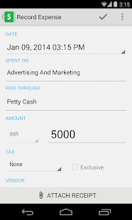 Zoho Books - Accounting on Go! - screenshot thumbnail