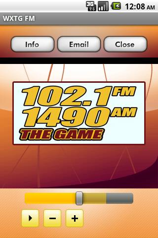 WXTG FM - screenshot