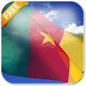 3D Cameroon Flag LWP icon