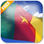 3D Cameroon Flag LWP
