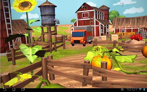 Cartoon Farm 3D Live Wallpaper- screenshot thumbnail