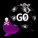 GO SMS THEME/GhostlySkulls4U