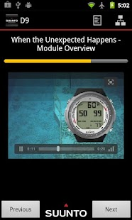 Suunto Dive Computers Training- screenshot thumbnail