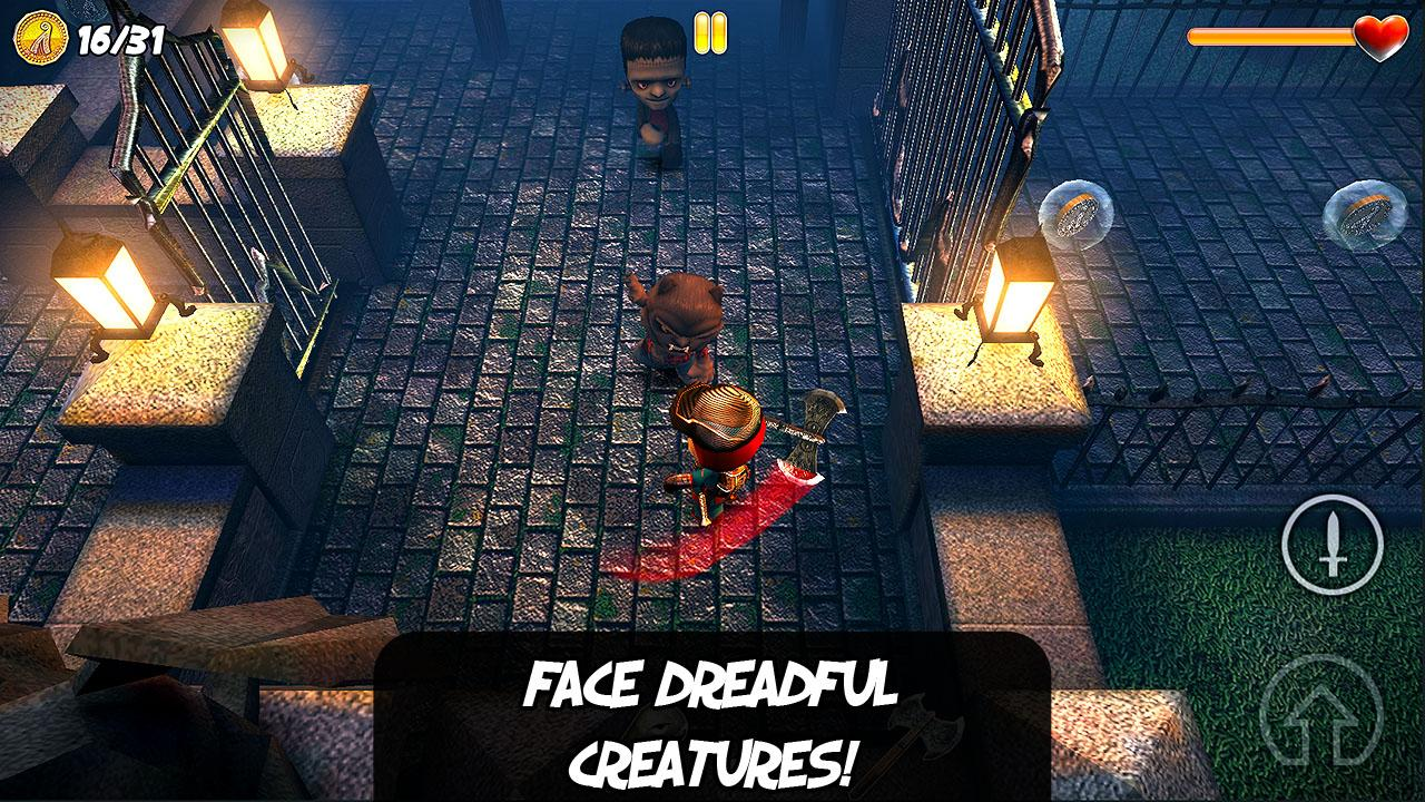 Clash of Puppets hack n slash - screenshot