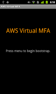 AWS Virtual MFA - screenshot thumbnail
