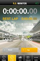 Screenshot of R.S. Monitor - Renault Sport