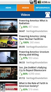 The Heritage Foundation - screenshot thumbnail