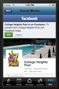 College Heights Pool- screenshot thumbnail