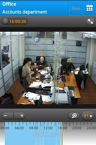 Ivideon Video Surveillance - screenshot