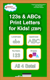 123s ABCs Handwriting Fun SET1 - screenshot thumbnail