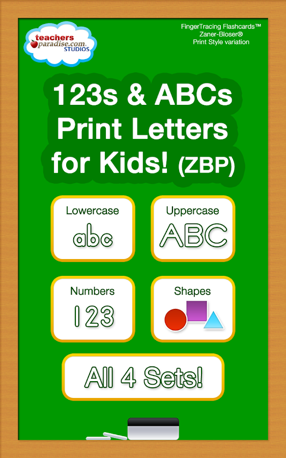 123s ABCs Kids Handwriting ZBP - screenshot