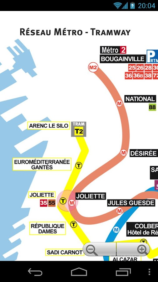 marseille metro and tram map android apps on google play. Black Bedroom Furniture Sets. Home Design Ideas