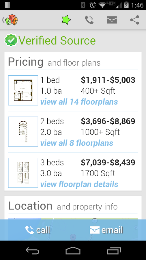 HotPads Rentals & Real Estate - screenshot