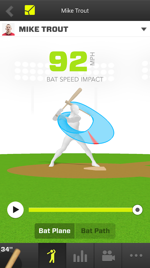 Zepp Baseball - screenshot