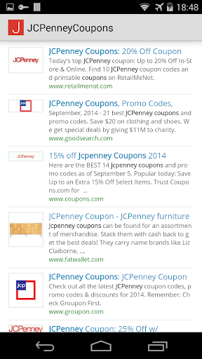Coupons for JCPenney
