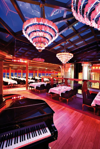 Costa-Deliziosa-Club-Deliziosa - Costa Deliziosa hosts four dining rooms, including (for a surcharge) Club Deliziosa.