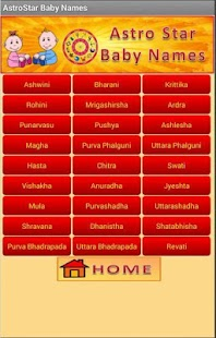 Baby Names & Birth Star screenshot