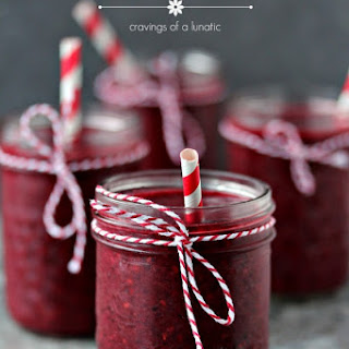 Mixed Berry Smoothie.