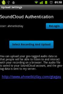 Geo-Tagged Audio- screenshot thumbnail