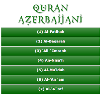 Download Quaran Azerbaijani APK for Android
