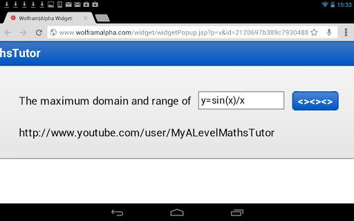 Max Domain Range Calculator