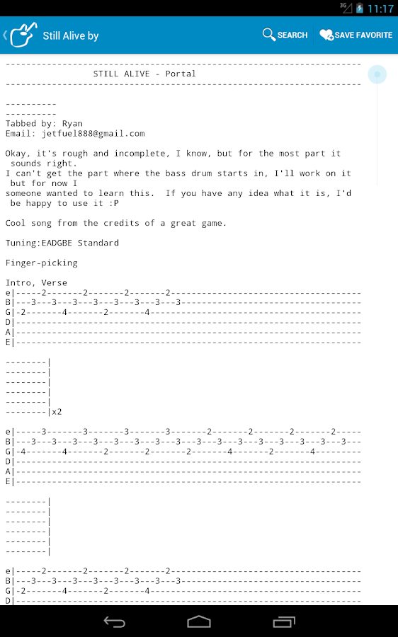 Achording Guitar Tabs & Chords - screenshot
