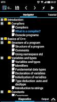 Screenshot of CppDroid - C/C++ IDE