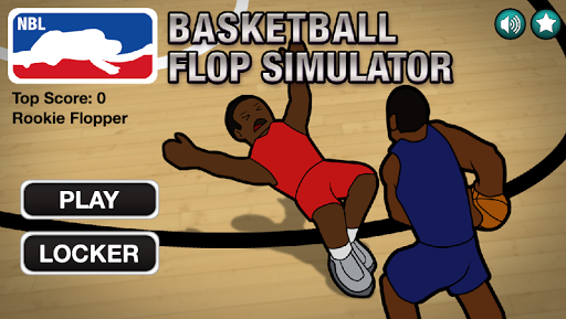 Basketball Flop Simulator