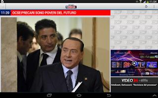 Screenshot of TGCOM24 HD