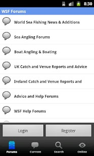 World Sea Fishing Forums - screenshot thumbnail