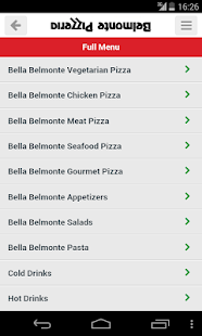 Belmonte Pizzeria- screenshot thumbnail