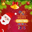 Merry Christmas Coloring 2015 icon