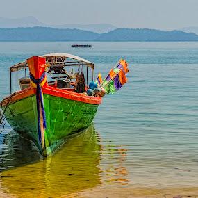 Koh Phayam by Mihail Marzyanov - Transportation Boats