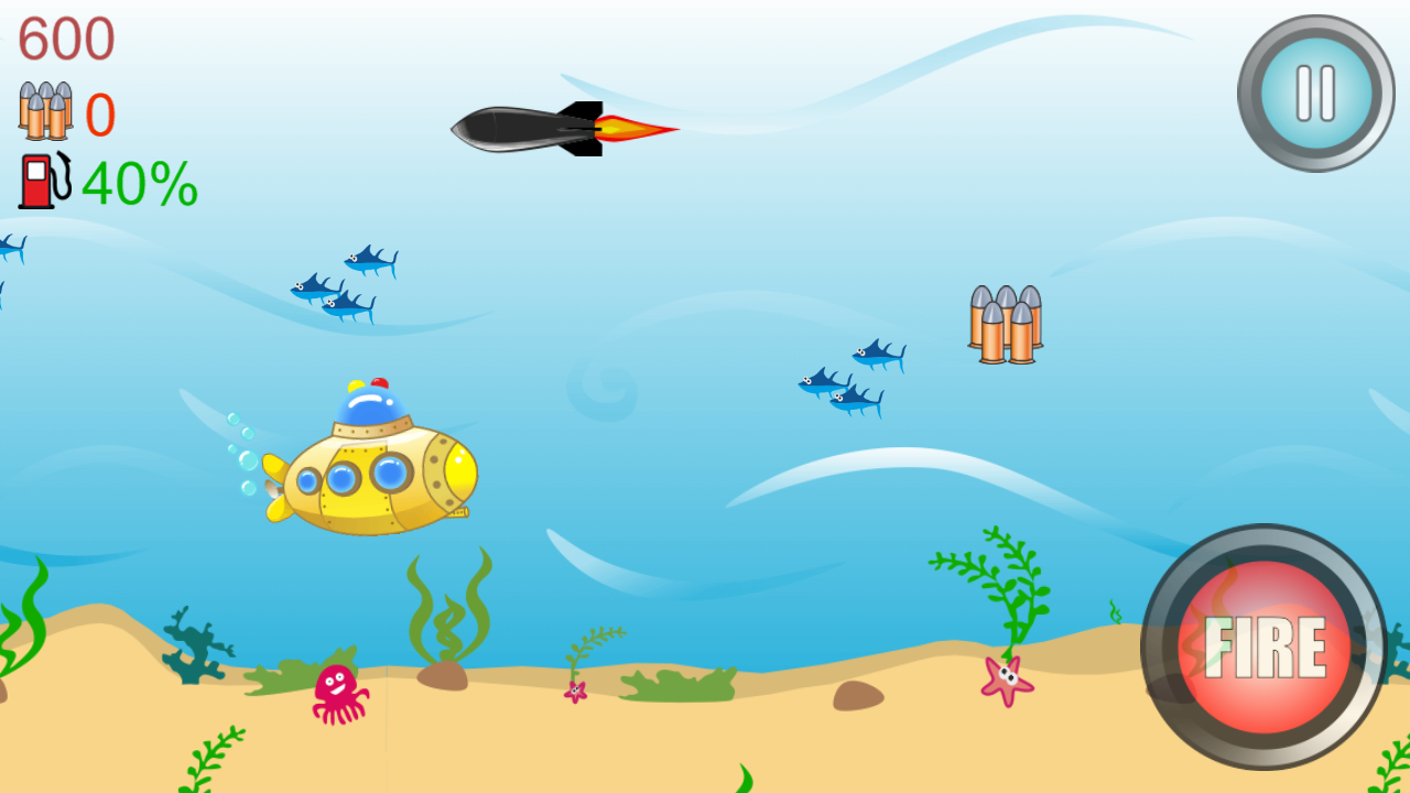 Amazing Submarine Adventure- screenshot
