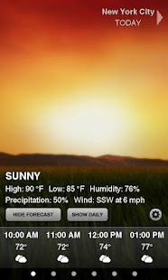 Weather HD Free- screenshot thumbnail
