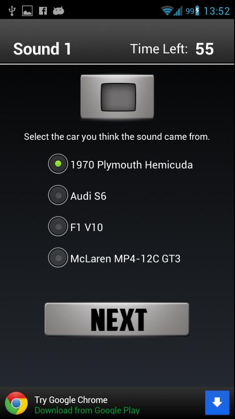 Car Sounds Quiz - screenshot