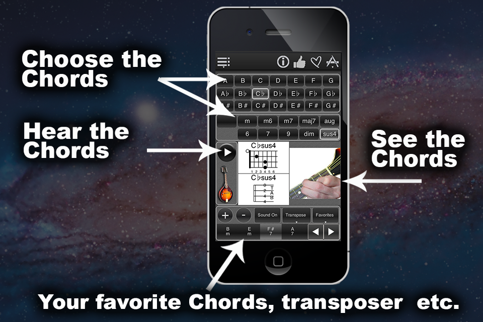 120 Mandolin Chords- screenshot