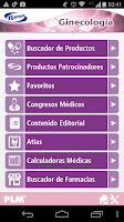 Screenshot of PLM Ginecología