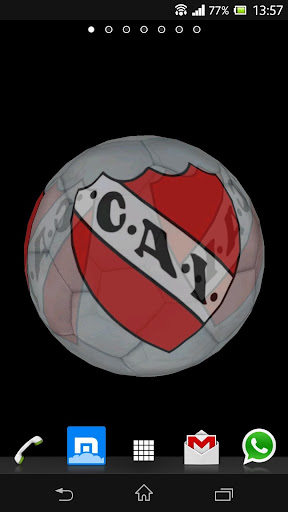 Ball 3D Independiente CAI LWP