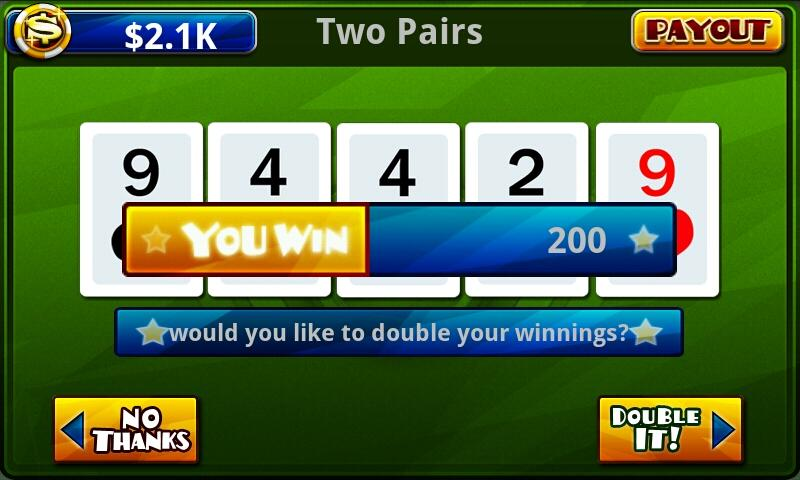 Video Poker™-Poker Casino Game - screenshot