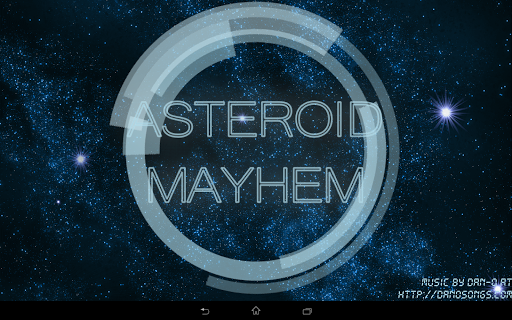 Asteroid Mayhem Space Shooter