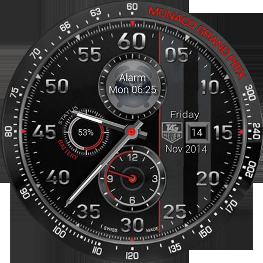 TagHeuer Clock Zooper Widget