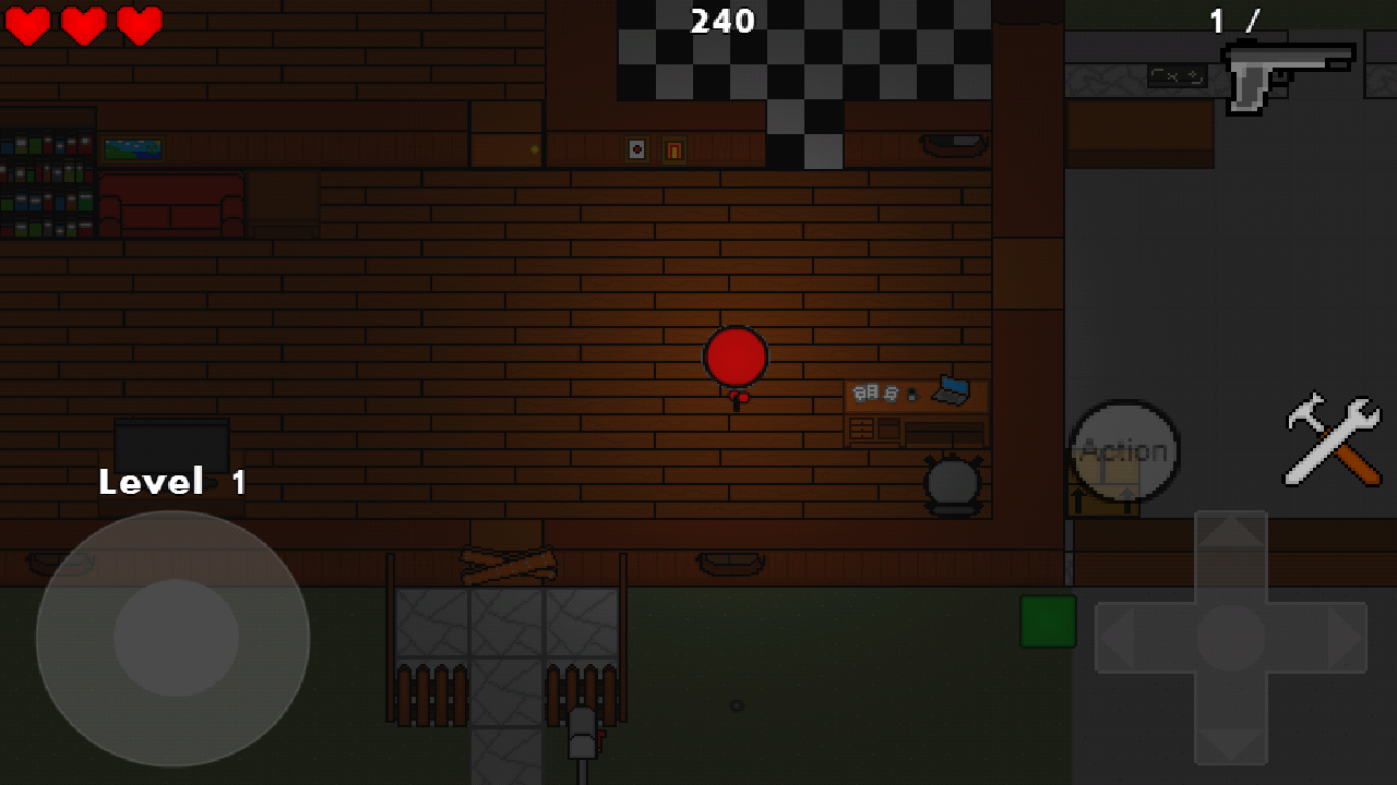 Zombie Cubes- screenshot