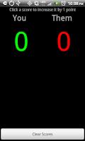 Screenshot of Game Scorer