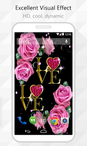 Love Flower Live Wallpaper