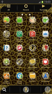 GO Launcher EX Theme Leopard - screenshot thumbnail