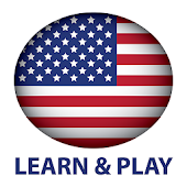 Learn and play. American English words, vocabulary