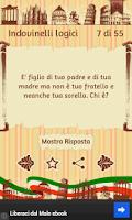 Screenshot of Italian Riddles