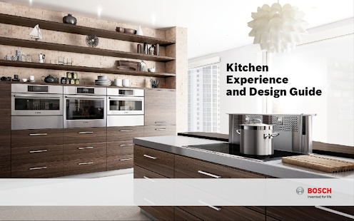 Bosch Kitchen Design Guide- screenshot thumbnail