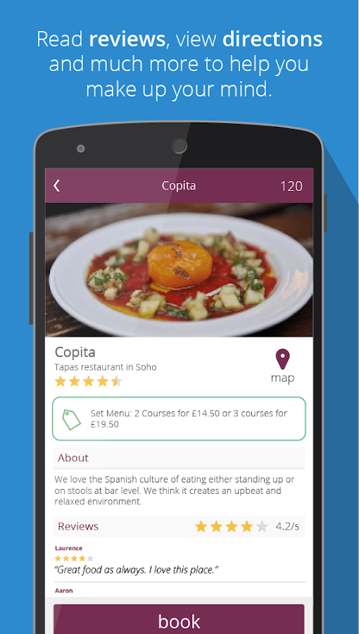 Ruffl: Find London Restaurants - screenshot